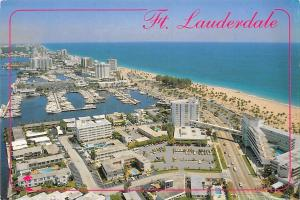 Ft. Lauderdale famous beach, Bahia Mar Yacht Basin, Yankee Clipper Hotel port