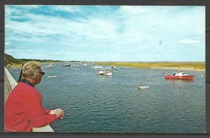 Massachusetts, Chatham - View Of Chatham Harbor