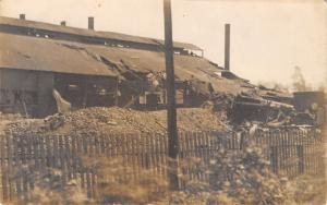 Canton Ohio~American Sheet & Tin Plate Company~Boiler Explosion~May 1910 RPPC