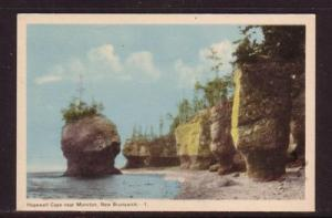 Hopewell Cape near Moncton, NB colour PC