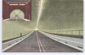 Harris County, Texas, Washburn Tunnel at Pasadena -
