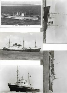 M.S. Albireo m.s. Mississippi Ivernia More RPPC Ships Postcard Lot of 15 01.12