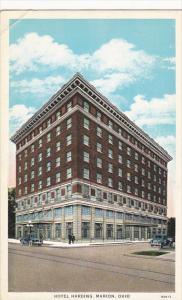 Ohio Marion Hotel Harding Curteich