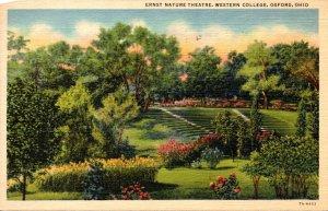 Ohio Oxford Ernst Nature Theatre Western College Curteich