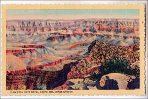 AZ - Cape Royal, North Rim Grand Canyon