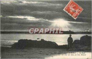 Postcard Old St Malo La Rade