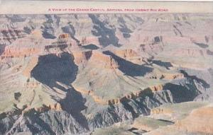 Arizona View From Hermit Rim Road Grand Canyon Fred Harvey 1920
