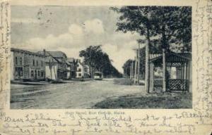 Main St. East Corinth ME 1905