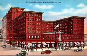 Louisiana New Orleans St Charles Hotel 1941