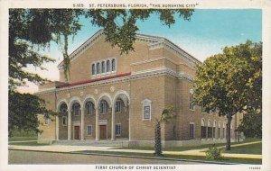 Florida Saint Petersburg The Sunshine City First Church Of Christ Scientist