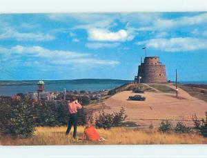 Unused Pre-1980 TOWN VIEW SCENE Lancaster New Brunswick NB p8182-12