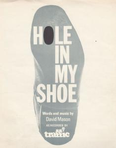 Hole In My Shoe Traffic 1960s Sheet Music