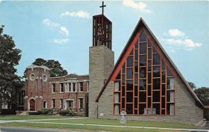 Utica New York~Our Saviour Lutheran Church & Parish~c1970 Postcard