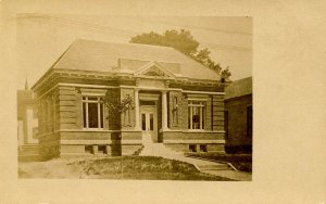 NH - Whitefield. Public Library circa 1904   RPPC