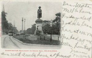 MILWAUKEE , Wisconsin , 1905 ; Washington Monument