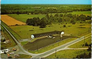 The Skylark Motel Lombardy Ontario ON Aerial View Vintage Postcard F3