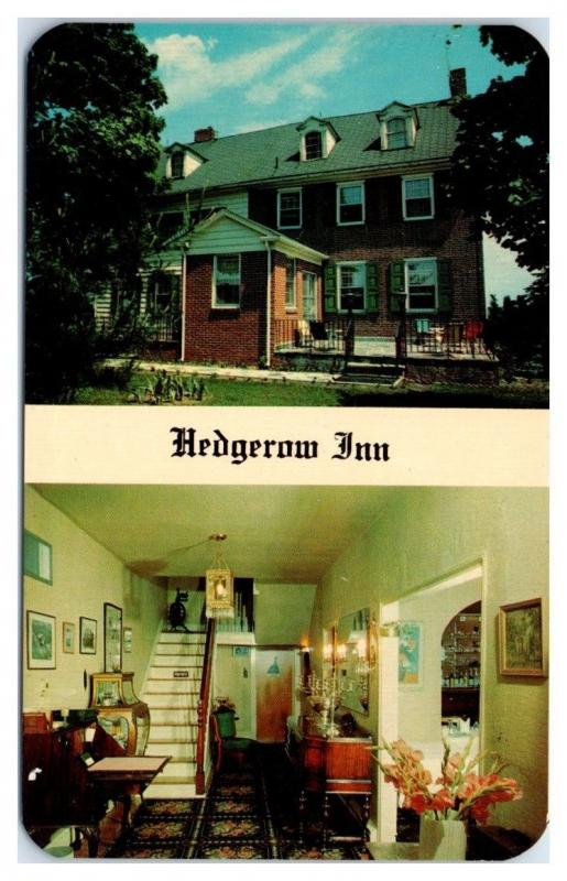 McGarrity's Hedgerow Inn, Lumberton, NJ Postcard