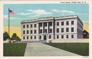 North Dakota Valley City Court House Curteich