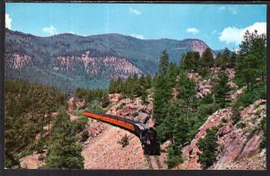 Denver and Rio Grande Narrow Gauge Passenger Train