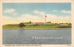 Historic Fort McHenry Baltimore MD Unused