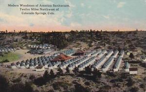 Modern Woodmen of America Sanitarium, Twelve Miles Northwest of Colorado Spri...