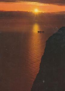 North Cape Sunset Norway Postcard