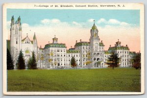 Morristown New Jersey~Convent Station~College of St Elizabeth Campus~1920s