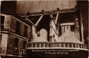 CPA BOMBARDEMENT DE PARIS (4e) St Gervais 19 Mars 1918 (157805)