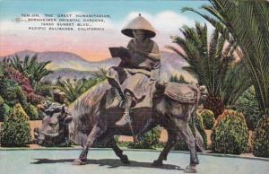 California Pacific Palisades Ten-Jin The GReat Humanitarian Bernheimer Orient...