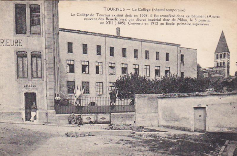 Tournus , France , 00-10s ; Le College (hopital temporaire)