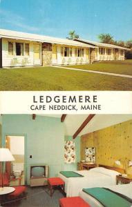 Cape Neddick Maine Ledgemere Multiview Vintage Postcard K59357