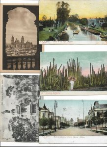 Beautiful Mexico Postcard Lot of 10 01.13