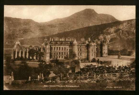 View Of Holyrood Palace, Edinburgh, Scotland - Unused