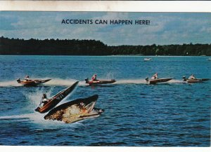P1806  vintage accidents can happen large fish in boat race