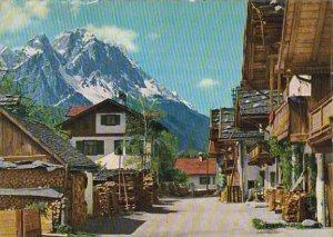 Germany Garmisch-Partenkirchen Fruehlingstrasse