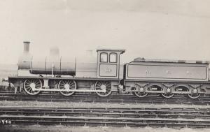 NER 2071 Train F01940 Vintage Real Photo Train Postcard