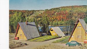 Houses By the Water, Laurentides, Quebec, Canada, 40-60´s