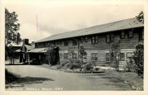 Kilauea Volcano House. Hawaii N.P. Real Photo Postcard