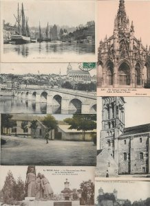 France Camp de Mailly Pont Aven Blois And More Postcard Lot of 21 01.04