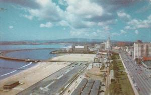 California Long Beach Ocean Boulevard Looking West