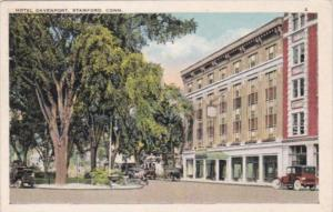 Connecticut Stamford Hotel Davenport 1931