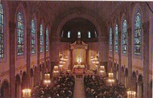 Massachusetts Worcester Interior St Joseph Memorial Chapel Holy Cross College