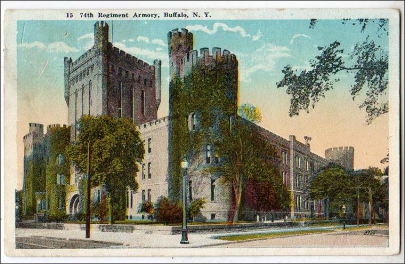74th Regiment Armory, Buffalo NY
