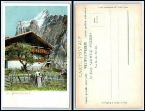 SWITZERLAND Postcard - Berner Oberland, House, Chalet FF