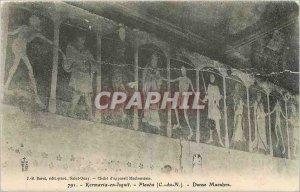 Old Postcard Kermaria in Isquit Plouha C N Danse Macabre