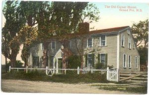 The Old Corner House, Grand Pre, Nova Scotia, NS, Canada, Divided Back