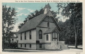 OCONTO, Wisconsin, 1900-1910s; First Christian Science Church
