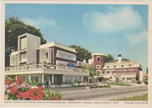 AD: Kystens Perle (Pearl Coast) Hotel & Restaurant, Snekkersten, Denmark 1966