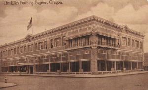 EUGENE , Oregon , 1900-10s ; The Elks Building