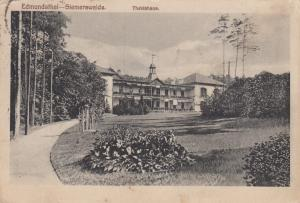 GEESTHACT, Germany, 1900-10s; Theklahaus at Edmundsthal-Siemerswalde, Hospital